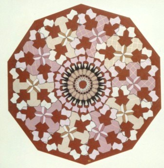 305 - Caleidoscope-series XIX-  Arabic 55 [60x60]